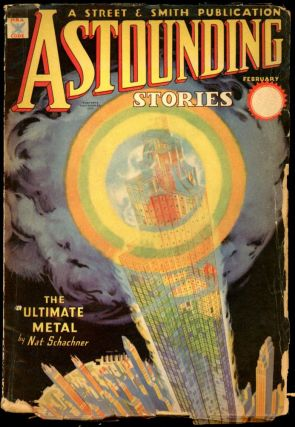 ASTOUNDING STORIES. 1935. . F. Orlin Tremaine ASTOUNDING STORIES. February, No. 6 Volume 14