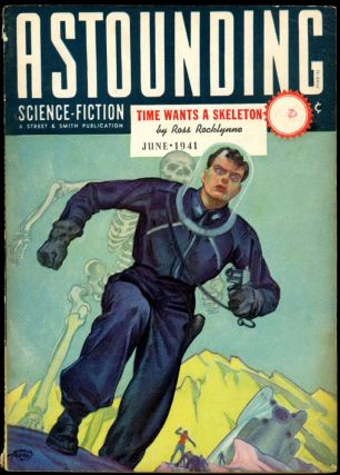 ASTOUNDING SCIENCE FICTION. ASTOUNDING SCIENCE FICTION. June 1941. . John W. Campbell Jr, Volume...