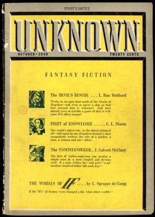 UNKNOWN. UNKNOWN. October 1940. ., John W. Campbell Jr, No. 2 Volume 4