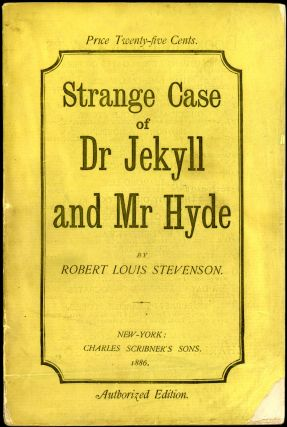 STRANGE CASE OF DR JEKYLL AND MR HYDE. Robert Louis Stevenson