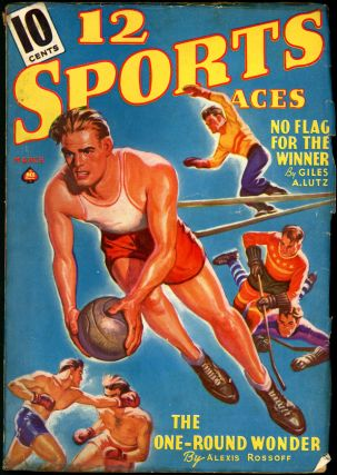 12 SPORTS ACES. 12 SPORTS ACES. March 1940, Volume 3 #1