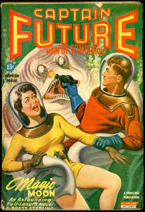 CAPTAIN FUTURE. CAPTAIN FUTURE. Winter 1944, Volume 6 #1