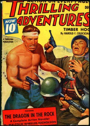 THRILLING ADVENTURES. LOUIS L'AMOUR, THRILLING ADVENTURES. December 1940. . J. S. Williams,...