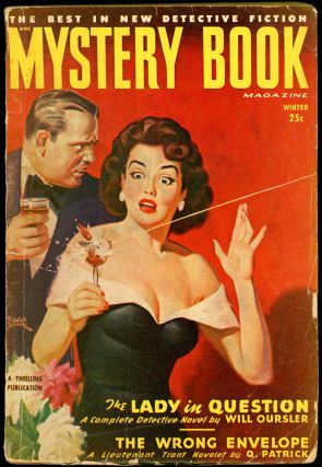 MYSTERY BOOK MAGAZINE. MYSTERY BOOK MAGAZINE. Winter 1949, Volume 7 No. 3, Leo Margulies