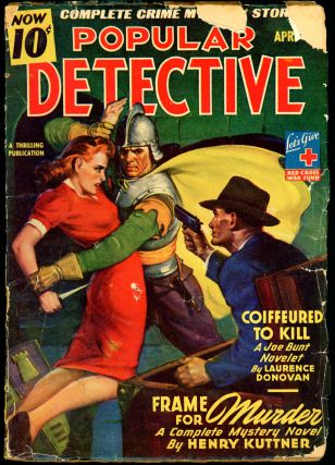 POPULAR DETECTIVE. POPULAR DETECTIVE. April 1944, No. 3 Volume 26