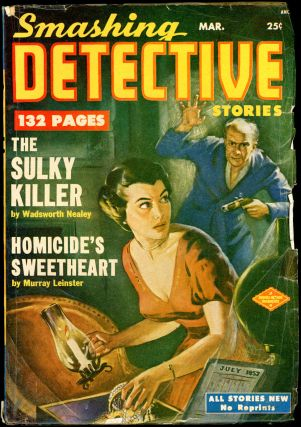 SMASHING DETECTIVE. SMASHING DETECTIVE. March 1952. . Robert W. Lowndes, No. 5 Volume 1