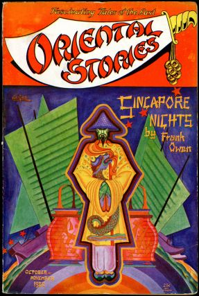 ORIENTAL STORIES. ROBERT E. HOWARD, ORIENTAL STORIES. October-November 1930. . Farnworth Wright,...