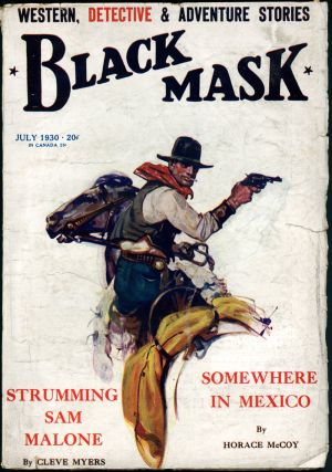 BLACK MASK. BLACK MASK. July 1930. . Joseph Shaw, No. 5 Volume 13