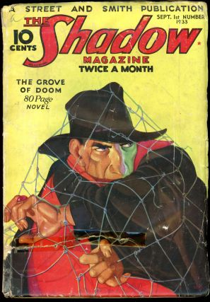 THE SHADOW. 1933 THE SHADOW. September 1, No. 1 Volume 7