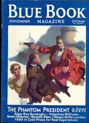 THE BLUE BOOK MAGAZINE. Edgar Rice Burroughs, 1931- March 1932. . THE BLUE BOOK MAGAZINE....