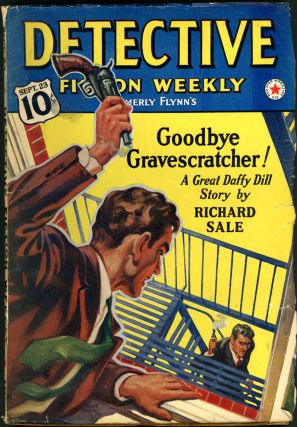 DETECTIVE FICTION WEEKLY. 1939 DETECTIVE FICTION WEEKLY. September 23, No. 3 Volume 131.