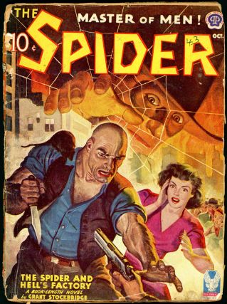 THE SPIDER. 1943 THE SPIDER. October, No. 1 Volume 30