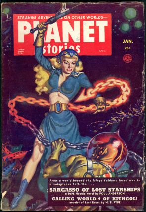 PLANET STORIES. 1952 PLANET STORIES. January, No. 4 Volume 5