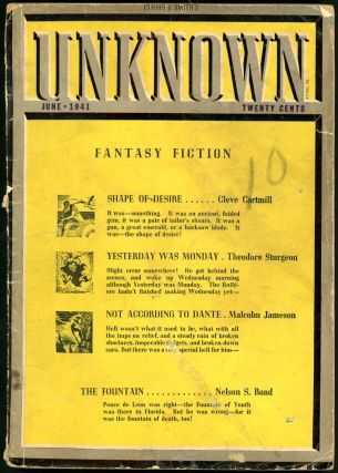 UNKNOWN. UNKNOWN. June 1941. ., John W. Campbell Jr, No. 1 Volume 5