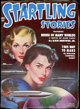 STARTLING STORIES. JACK VANCE, 1951 STARTLING STORIES. September, #1 Volume 24