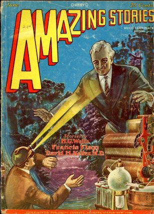 AMAZING STORIES. AMAZING STORIES. June 1928., No. 3. Vol. 3, Hugo Gernsback.