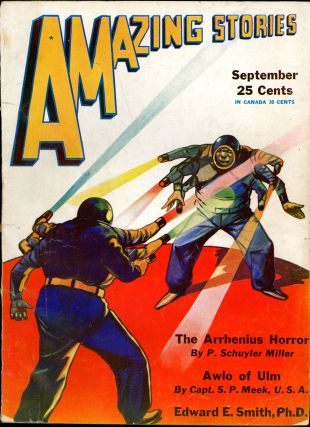 AMAZING STORIES. AMAZING STORIES. September 1931. ., T. O'Connor Sloane, No. 6 Vol. 6