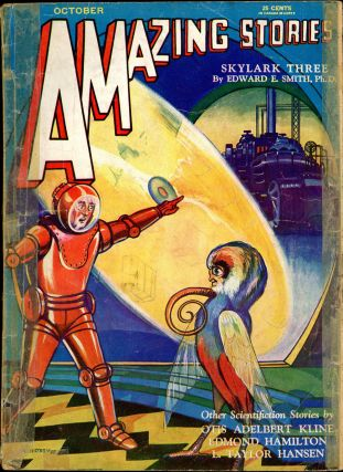 AMAZING STORIES. AMAZING STORIES. October 1930. ., T. O'Connor Sloane, No. 7 Volume 5