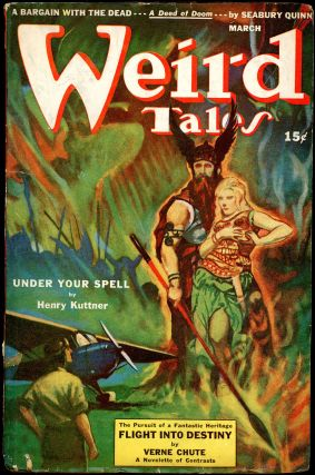 WEIRD TALES. WEIRD TALES. March 1943. . Dorothy McIlwraith, No. 10 Volume 36
