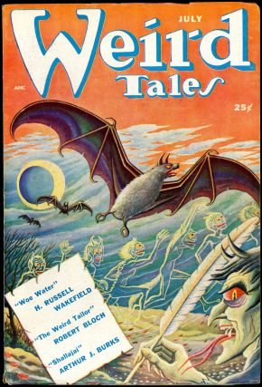 WEIRD TALES. WEIRD TALES. July 1950. . Dorothy McIlwraith, No. 5 Volume 42