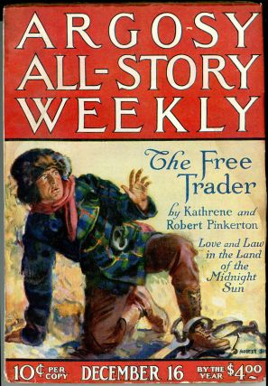 TARZAN AND THE GOLDEN LION in ARGOSY ALL-STORY WEEKLY [complete in seven issues].