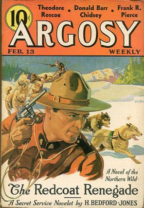 SEVEN WORLDS TO CONQUER [BACK TO THE STONE AGE] in ARGOSY [complete in six issues].