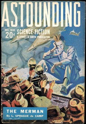 ASTOUNDING SCIENCE FICTION. ASTOUNDING SCIENCE FICTION. December 1938. . John W. Campbell Jr, No....