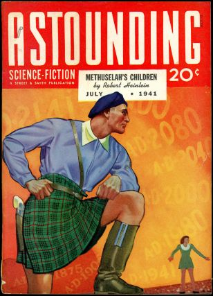 ASTOUNDING SCIENCE FICTION. ASTOUNDING SCIENCE FICTION. July 1941. . John W. Campbell Jr, Volume...