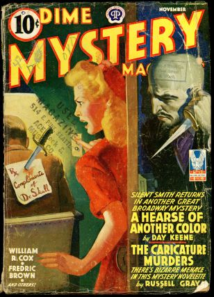 DIME MYSTERY. DIME MYSTERY MAGAZINE. November 1942, No. 1 Volume 28