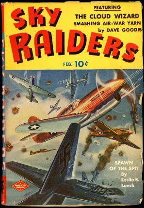 BATTLE ACES. David Goodis, SKY RAIDERS. February 1943, No. 3 Volume 1