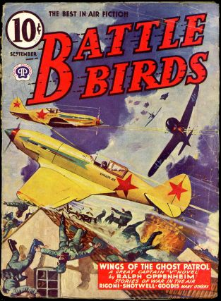 BATTLE BIRDS. David Goodis, BATTLE BIRDS. September 1943, No. 2 Volume 6