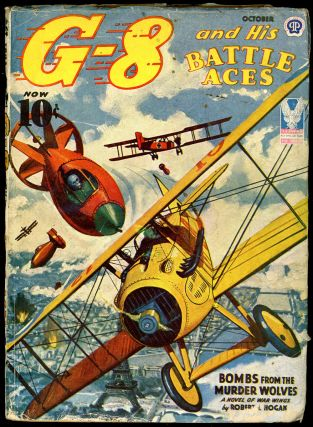 G-8 and HIS BATTLE ACES. G-8, HIS BATTLE ACES. October 1943, No. 3 Volume 26