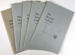 THE HOWARD COLLECTOR. [ALL PUBLISHED].
