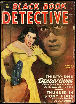 BLACK BOOK DETECTIVE. BLACK BOOK DETECTIVE. January 1949, No. 3 Volume 25