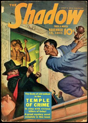 THE SHADOW. 1941 THE SHADOW. November 15, No. 6 Volume 39.