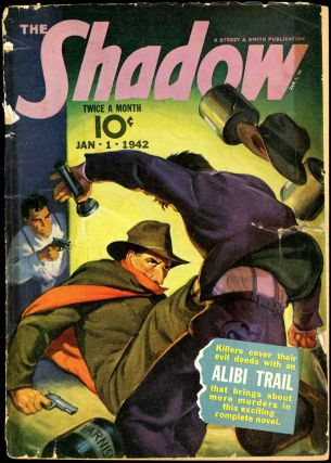 THE SHADOW. 1942 THE SHADOW. January 1, No. 3 Volume 40
