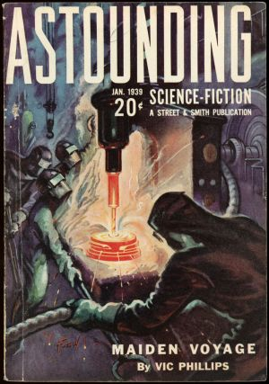 ASTOUNDING SCIENCE FICTION. ASTOUNDING SCIENCE FICTION. January 1939. . John W. Campbell Jr, No....