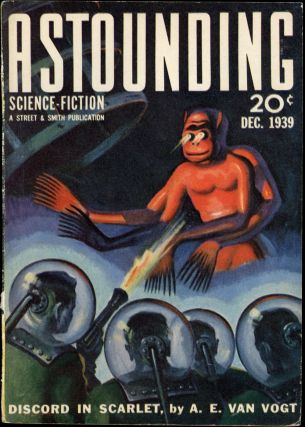 ASTOUNDING SCIENCE FICTION. 1939. . John W. Campbell ASTOUNDING SCIENCE FICTION. December, Jr,...