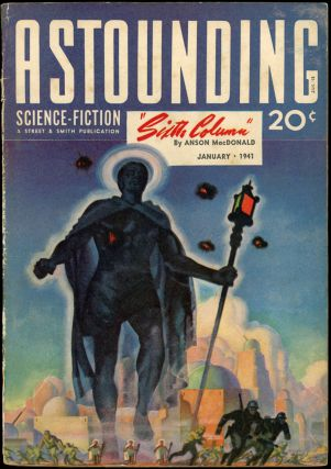 ASTOUNDING SCIENCE FICTION. 1941. . John W. Campbell ASTOUNDING SCIENCE FICTION. January, Jr, No....