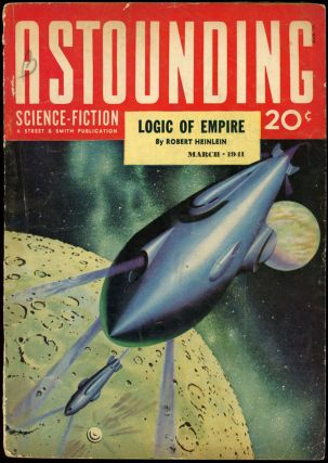 ASTOUNDING SCIENCE FICTION. ASTOUNDING SCIENCE FICTION. March 1941. . John W. Campbell Jr, No. 1...