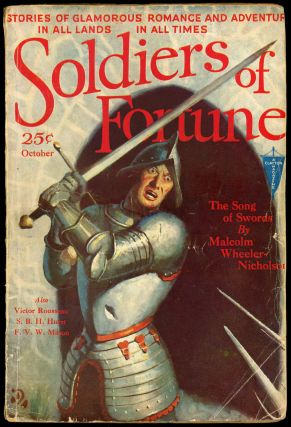SOLDIERS OF FORTUNE. 1931. . Harry Bates SOLDIERS OF FORTUNE. October, No. 1 Volume 1