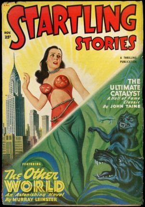 STARTLING STORIES. L. RON HUBBARD. JACK VANCE, 1949 STARTLING STORIES. November, No. 2 Volume 20