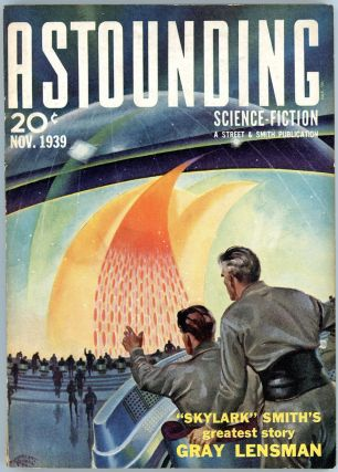 ASTOUNDING SCIENCE FICTION. 1939. . John W. Campbell ASTOUNDING SCIENCE FICTION. November, Jr,...