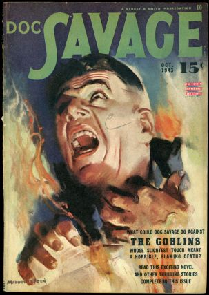 DOC SAVAGE. 1943 DOC SAVAGE. October, No. 2 Volume 22