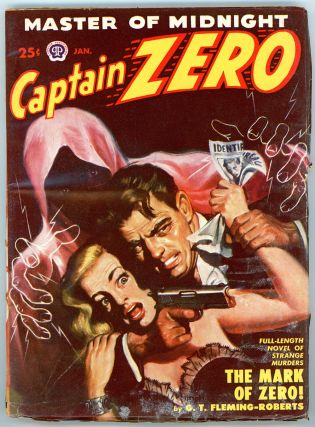 CAPTAIN ZERO. 1950 CAPTAIN ZERO. January, No. 2 Volume 1