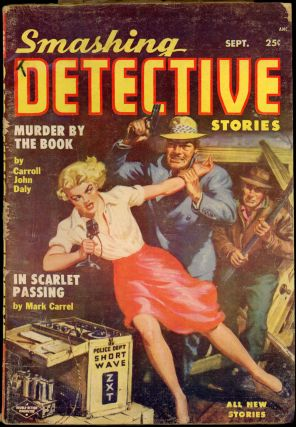 SMASHING DETECTIVE STORIES. SMASHING DETECTIVE STORIES. September 1954. . Robert W. Lowndes, No....