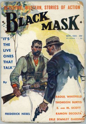BLACK MASK. 1931. . Joseph T. Shaw BLACK MASK. November, No. 9 Volume 14