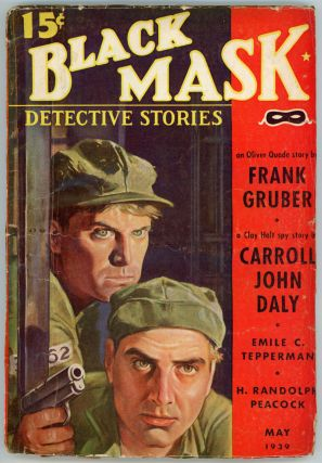 BLACK MASK. 1939. . Ellsworth BLACK MASK. May, No. 2 Volume 22, anny