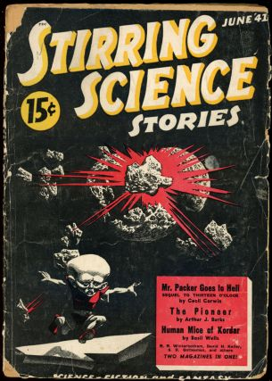 STIRRING SCIENCE STORIES. STIRRING SCIENCE STORIES. June 1941. ., Donald A. Wollheim, No. 3 Volume 1