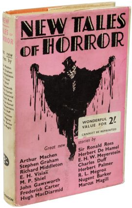 NEW TALES OF HORROR BY EMINENT AUTHORS. Terence Ian Fytton Armstrong